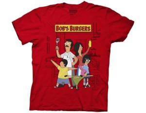 Hero Pose Burger T Shirt From Ripple Junction-Bob's Burgers