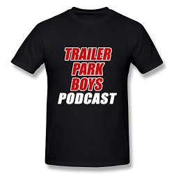 Elegant Trailer Park Boys Logo T Shirt In Black And Various Colors For Men