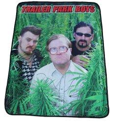 "Fleece Throw Blanket Of Trailer Park Boys 46"" X 60"""