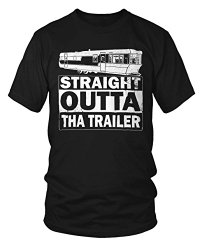 Funny Parody T-Shirt Straight Out Of The Trailer