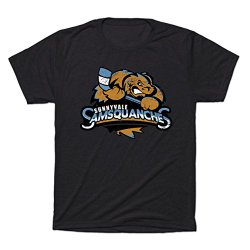 Teepublic Triblend T-Shirt Sunnyvale Samsquanches