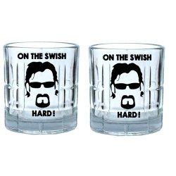 Twin Glass Tumbler 10oz Trailer Park Boys - Pack of 2 Tumblers