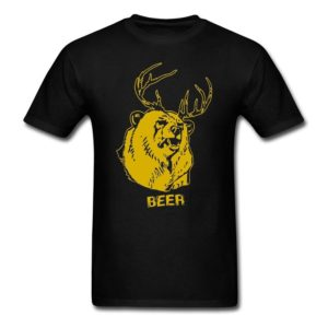 Superdude Mac's Beer T-Shirt In 7 Colors