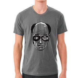 grey t-shirt i am the liquor mr lahey trailer park boys