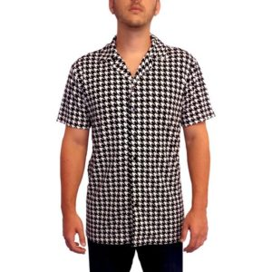 Trailer Park Boys Costume Ricky's Houndstooth Shirt