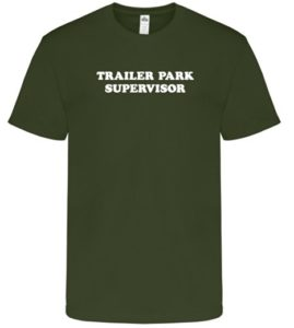 trailer park boys supervisor men's t-shirt funny