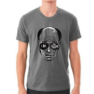 Grey Mr Lahey Shirt - I Am The Liquor Quote Based Print