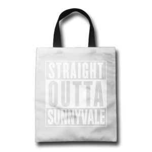New Shopping Grocery Reusable Bag - Straight Outta Sunnyvale - Trailer Park Boys