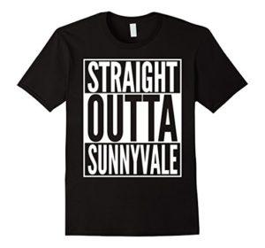 Tee Shirt With Sunnyvale Trailer Park Design