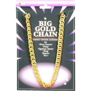 The Big Gold Chain For The Halloween Trailer Park Party