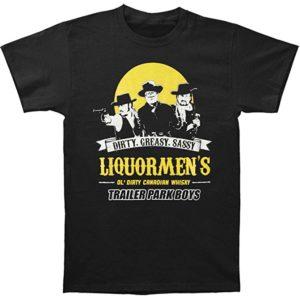 Mens Liquormen Trailer Park Boys T Shirt From DressCode