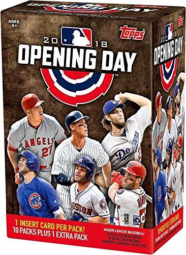 Topps 2018 Opening Day Baseball Factory Sealed 11 Pack Blaster Box