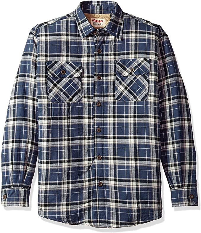 mens chequered shirt long sleeve