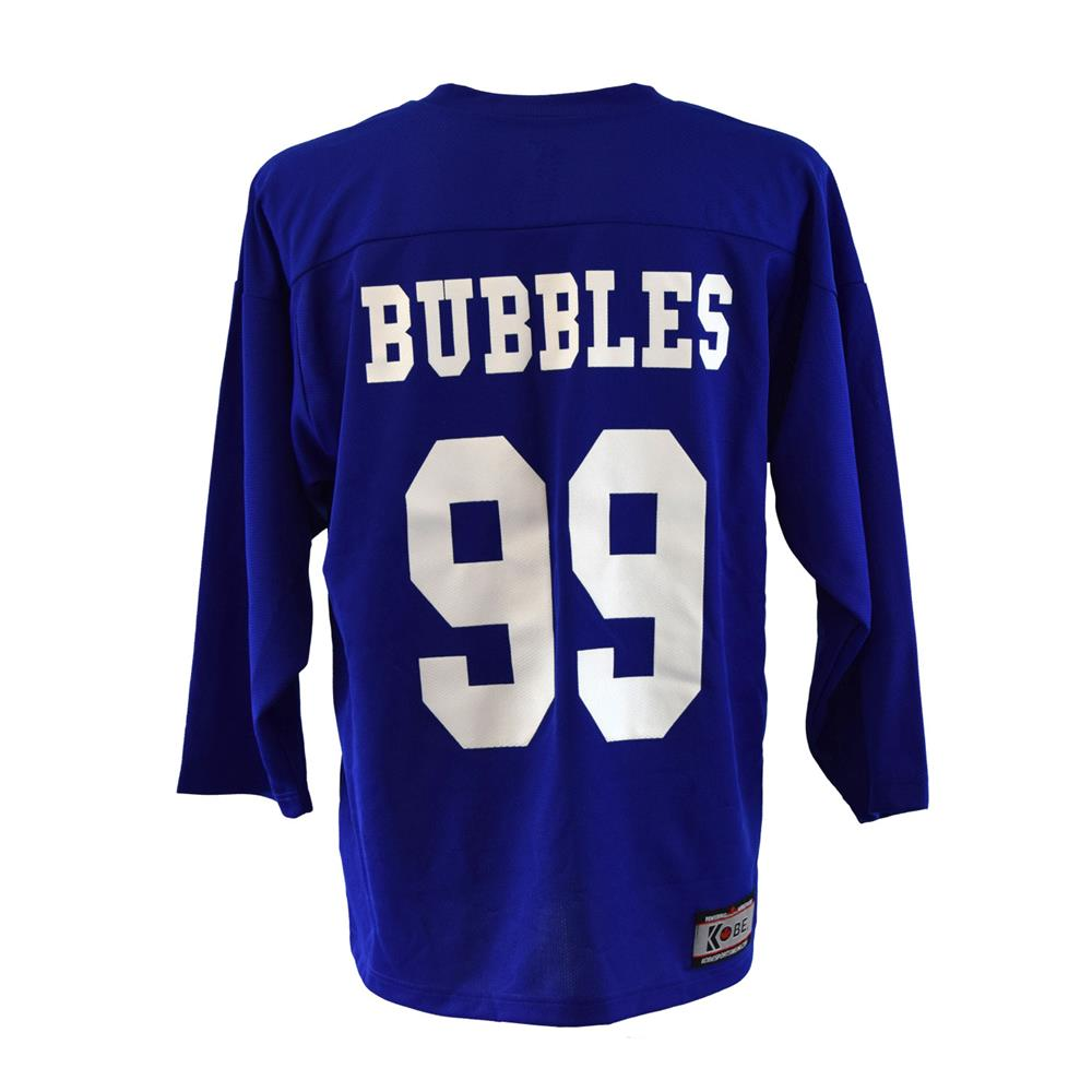 bubbles sunnyvale hockey jersey blue back side