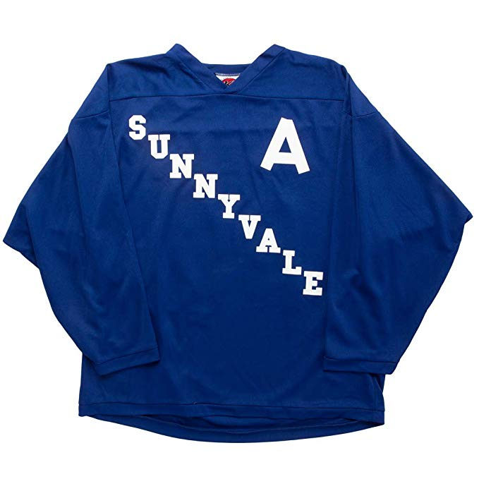 bubbles sunnyvale hockey jersey blue