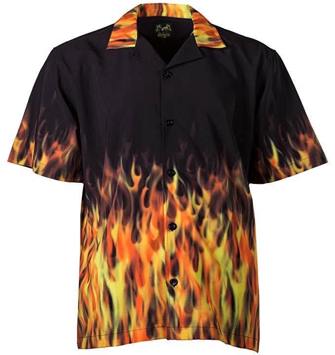 ricky flame shirt