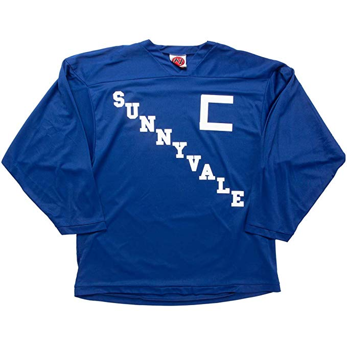 ricky sunnyvale hockey jersey blue