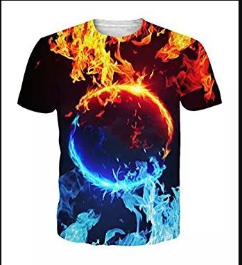 ricky tpb flame shirt