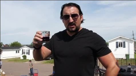 what does julian drink in trailer park boys show