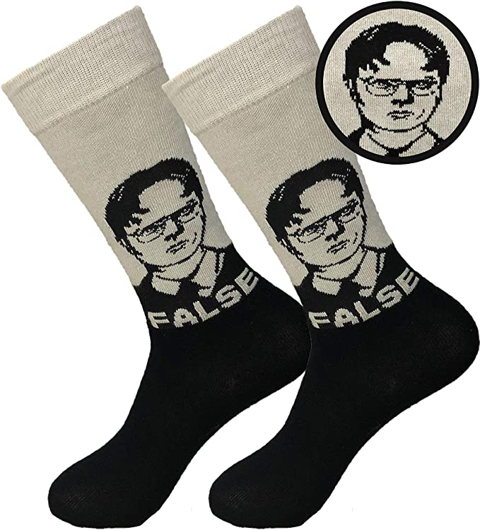 dwight schrute socks